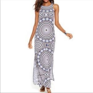 3/$20!🍃 INC Sleeveless Medallion Maxi Dress